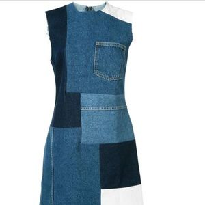 🔥NWOT🔥 Grlfrnd Patchwork Mini Dress